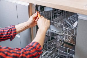 how to drain a dishwasher